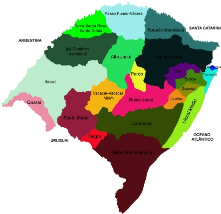 mapa-das-bacias-hidrográficas-do-RS